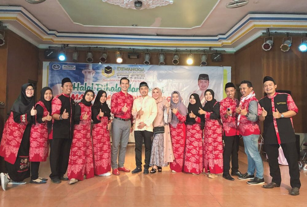 Halal Bi Halal Alumni Jemaah Dewangga Dihadiri Atalarik Syah