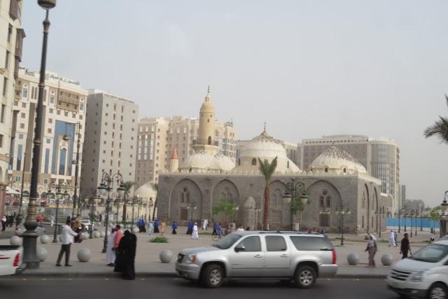 Masjid Al Ghamamah Madinah, Masjid Tempat Sholat Id Rasulullah