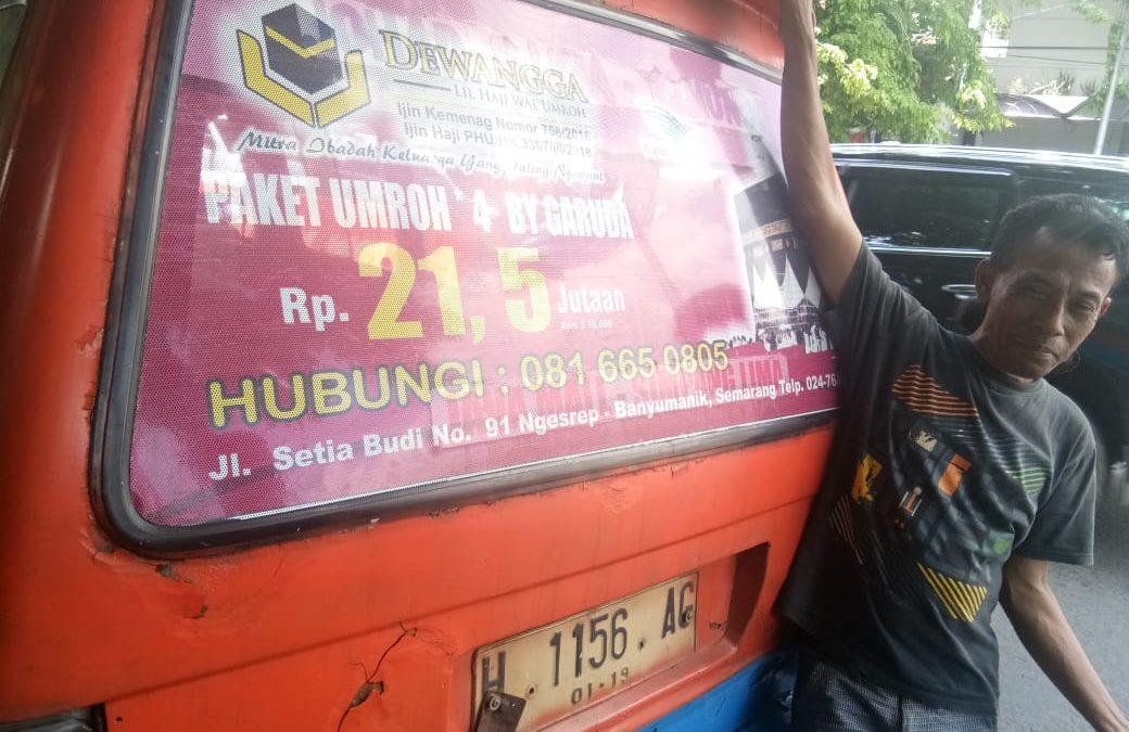 Sopir Angkot : Alhamdulillah Dewangga Ngrejekeni, semoga saya bisa umroh