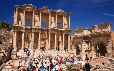 Kota Romawi Ephesus di Turki, Dahsyat Banget!