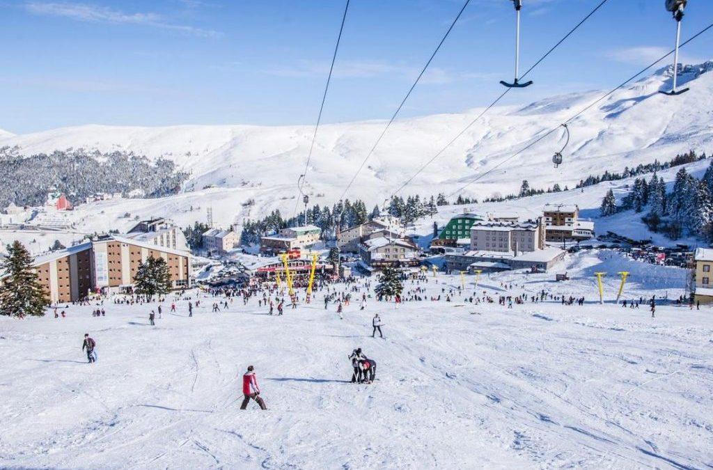 Indahnya Gunung Bersalju Uludag Di Bursa Turki